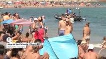 Barcelone : une bombe découverte près d'une plage