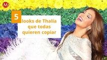 Cinco looks de Thalia que todas quieren copiar