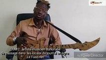 Musique   « Les Burkinabè commencent à s'intéresser à leurs artistes »,  dixit OUM'C, artiste musicien