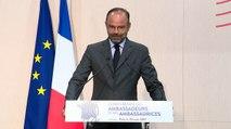 Discours d'Edouard Philippe à la Conférence des ambassadeurs et des ambassadrices
