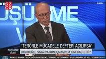 Ahmet Davutoğlu, eski defter konuşmasıyla kimi kast ettiğini açıkladı!