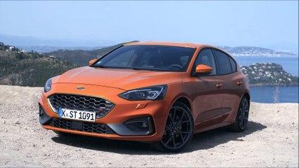 Présentation Ford Focus ST 2019 (Mk4) Orange Fury