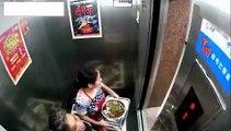 Presque écrasée par un ascenseur, elle va avoir beaucoup de chance