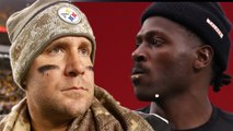 "Antonio Brown BLASTS Ben Rothlisberger, Says They Were NEVER Friends ""Shut Up Already"""