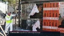 Affichage sauvage : la mairie de Paris condamnée à nettoyer à ses frais ?