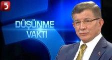 Davutoğlu'ndan 'yeni parti' açıklaması: Yeni bir hali yeni bir yol olarak bağlamak lazım