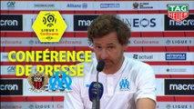 Conférence de presse OGC Nice - Olympique de Marseille (1-2) : Patrick VIEIRA (OGCN) - André VILLAS BOAS (OM) - 2019/2020