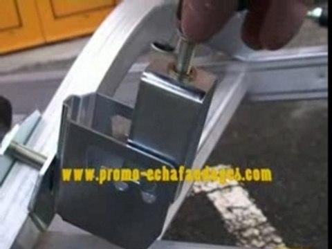 video du stabilisateur universel pour échelles aluminium