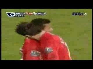 Cristiano Free Kick vs PORSMOUTH ! 30/01/08