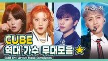 큐브 역대 가수 무대 모음 ㅣ CUBE Ent. Artist Stage Compilation [소.취]