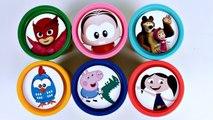 Massinha de Modelar Playdoh Show da Luna Galinha Pintadinha Peppa Pig PJ Masks