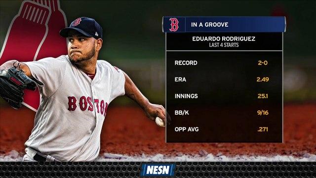 Red Sox's Eduardo Rodriguez Looks To Continue Hot Streak Against Rockies