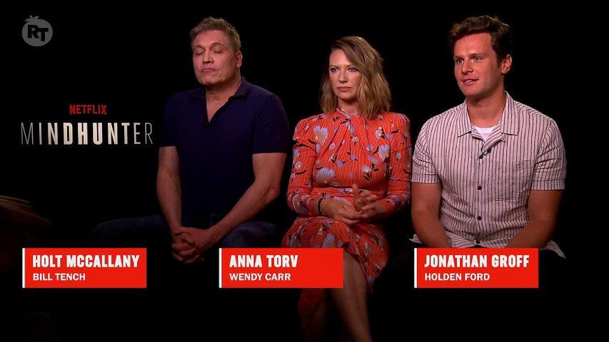 'Mindhunter' Cast Talks Charles Manson - Season 2 - Rotten Tomatoes