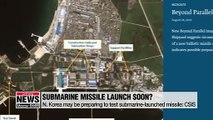 N. Korea may be preparing to test submarine-launched missile: CSIS