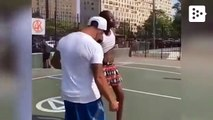 A man challenges a girl and she humiliates him in front of the entire court