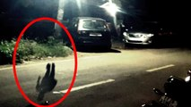 Creepy GHOST Caught on Tape- Scary Shadow of an Invisible Man Caught on Mobile Camera