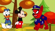 Cartoon for Kid   Kid Movies   thrilling and fascinating adventure of mickey mouse, minnie mouse and spider man while on patrol
