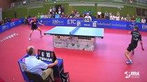 Dennis Klein vs Bastian Steger (TTBL Selected)