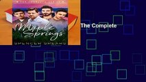 Full E-book  Maple Springs: The Complete Series  Review