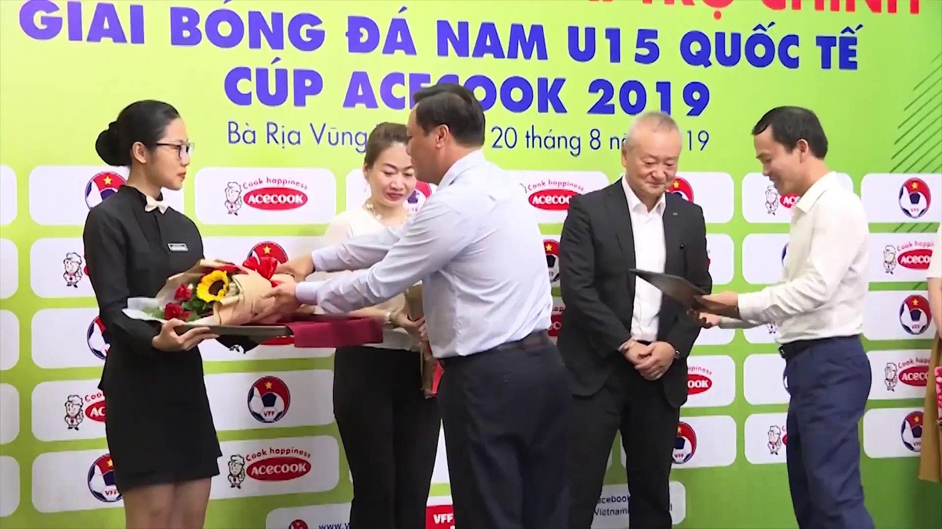 TRỰC TIẾP   U15 Việt Nam - U15 Myanmar   U15 Quốc tế - Cúp Acecook 2019   VFF Channel