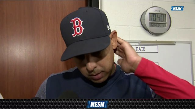 Alex Cora Praises Eduardo Rodriguez After Earning Win No. 16 Of Season