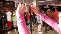 Rapper Travis Scott hosts surprise pop-up in NW Houston