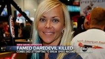 """La pilote automobile Jessi Combs, considérée comme """"la plus rapide du monde"""", se tue dans un accident en tentant de battre son propre record"""