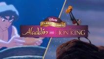 Tráiler de la remasterización de Aladdin y El Rey León