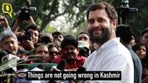 BJP, Cong Spar Over Pak's UN Petition Quoting Rahul Gandhi on J&K - The Quint