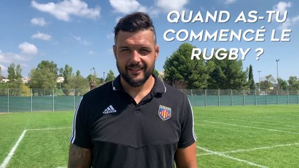HISTOIRE DE RUGBY - DAMIEN CHOULY