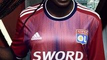 Adidas dévoile le 3e maillot de l'Olympique Lyonnais