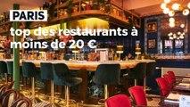 MarieFrance_Paris  top des restaurants à moins de 20 €_IN