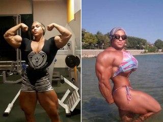 Une culturiste passe de 40 à 90kg. Transformation incroyable