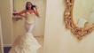 Elle fabrique une robe de mariée en papier toilette et le résultat est incroyable
