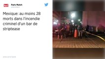 Mexique : Au moins 28 morts dans l'incendie criminel d'un bar de la région de Veracruz