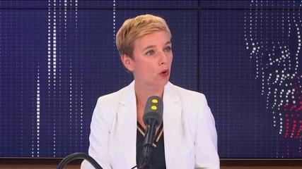 Clémentine Autain - Franceinfo jeudi 29 août 2019