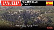 Resumen Flash - Etapa 6 | La Vuelta 19
