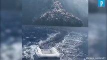 Italie : l'impressionnante éruption du volcan Stromboli