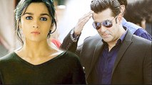 Alia Bhatt UPSET With Salman Khan For Walking Out Of The Film