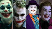 The JOKER laugh comparison : Jack Nicholson, Heath Ledger, Joaquin Phoenix, Jared Leto