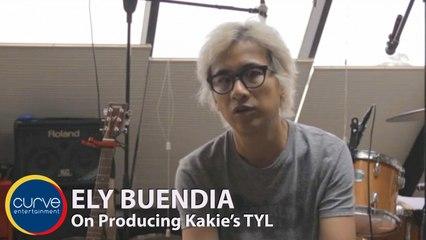 Ely Buendia - On Producing kakie's single TYL