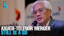 EVENING 5: Axiata-Telenor merger plans on track