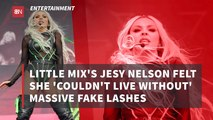 Jesy Nelson Needs Her Lashes