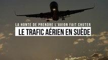 La honte de prendre l'avion fait chuter le trafic aérien en Suède