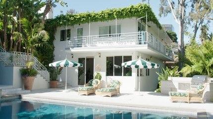 Bienvenue chez Cara et Poppy Delevingne à Los Angeles