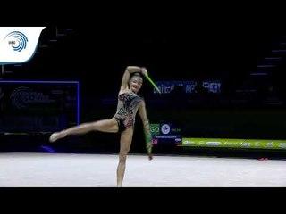 Ekatarina VEDENEEVA (SLO) - 2019 Rhythmic Gymnastics European Championships, clubs final