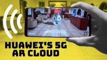 Huawei's 5G-powered AR environment for maps and games