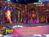 Mirchi Music Awards 2012 – Shreya Ghoshal  Teri Meri – Bodyguard ,  Shreya Ghoshal feat Bappi Lahiri  Ooh La La – The Dirty Picture   Shreya Ghoshal  Ye Ishq Hai – Jab We Met ,  FROM  Mirchi Music Awards 2012 ,  HINDI MAGIC BOLLYWOOD भाषा  हिंदी बॉलीवुड की