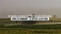 Ce maire a voulu interdire les pesticides dans sa commune : la justice lui dit non