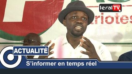INTEGRALE POINT DE PRESS OUSMANE SONKO